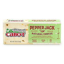 Cabot Pepper Jack Cheese, 8 Ounce