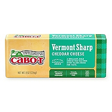 Cabot Vermont Sharp Cheddar, 8 Ounce