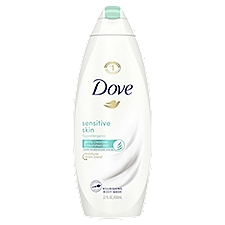 Dove Sensitive Skin Body Wash, 22 Ounce