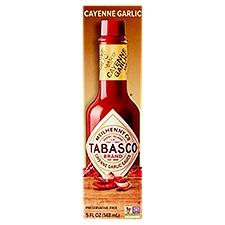 Tabasco Garlic Pepper Sauce, 5 Fluid ounce