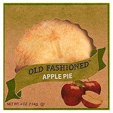 Old Fashion Foods Baked Apple Pie, 4 Ounce