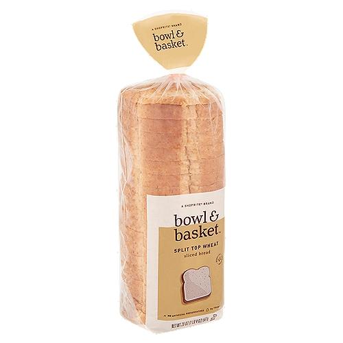 Bowl & Basket Split Top Wheat Sliced Bread, 20 oz