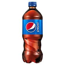 Pepsi Cola - Single Plastic Bottle, 20 Fluid ounce