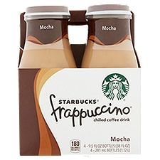 Starbucks Frappuccino Mocha Chilled Coffee Drink, 38 Fluid ounce