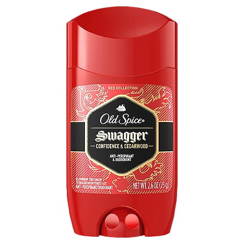 Swagger is the scent of confidence, which happens to smell like lime and cedarwood. So easy to use you might accidentally put it on and only later realize your man-nificence.