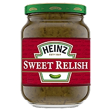 Heinz Sweet Relish, 10 Fluid ounce