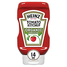 Heinz Tomato Ketchup Organic, 14 Ounce