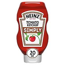 Heinz Simply Heinz Tomato Ketchup, 20 Ounce