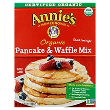 Annie's Homegrown Orgainc Pancake & Waffle Mix, 26 Ounce