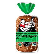 Dave's Killer Bread 21 Whole Grains & Seeds Organic Bread, 27 Ounce