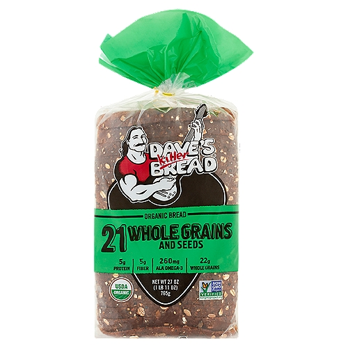 With a hearty texture, and subtle sweetness and seed-coated crust, 21 is great for toast, sandwiches or even by itself. Always made with killer taste and texture.