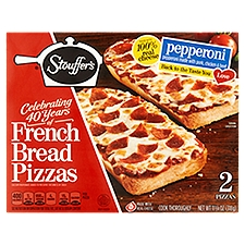 STOUFFER'S FRENCH BREAD PIZZA Pepperoni French Bread Pizza, 11.25 Ounce