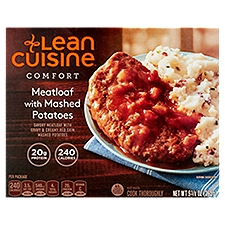 LEAN CUISINE Meatloaf With Mashed Potatoes, 9.38 Ounce
