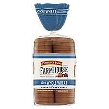 Pepperidge Farm®  Farmhouse Farmhouse - 100% Whole Wheat Hearty Sliced Bread, 24 Ounce