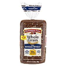 Pepperidge Farm®  Whole Grain Whole Grain Whole Wheat Bread, 24 Ounce