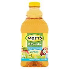 Mott's 100% Apple White Grape Juice, 64 Fluid ounce