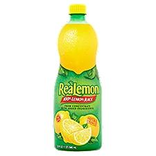 Realemon 100% Lemon Juice - Single Bottle, 32 Fluid ounce