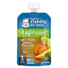 Gerber Strong Toddler Food, Sweet Potato Mango Pear Kale, 3.5 Ounce