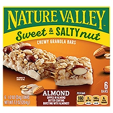 Nature Valley Sweet & Salty Nut - Almond Granola Bars, 7.4 Ounce