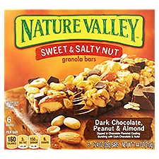 Nature Valley Sweet & Salty Nut - Dark Chocolate Granola Bars, 7.44 Ounce