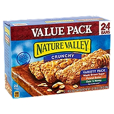 Nature Valley Crunchy Granola Bars Variety Pack, 17.88 Ounce