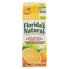 Florida's Natural Most Pulp Orange Juice, 52 Fluid ounce