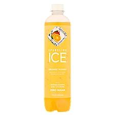 Sparkling Ice Orange Mango Sparkling Water, 17 Fluid ounce