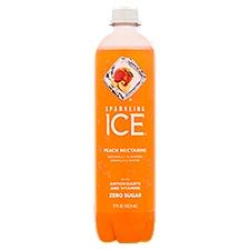 Sparkling Ice Peach Nectarine Sparkling Water, 17 Fluid ounce