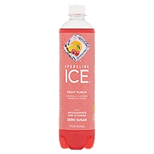 Sparkling Ice Fruit Punch Sparkling Water, 17 Fluid ounce