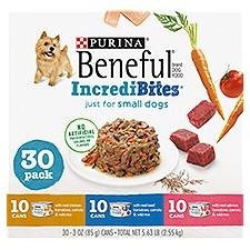 Purina Beneful Dog Food Beef, Tomatoes, Carrots & Wild Ri, 5.63 Pound