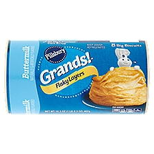 Pillsbury Grands! Flaky Layers Buttermilk Biscuits, 16.3 Ounce