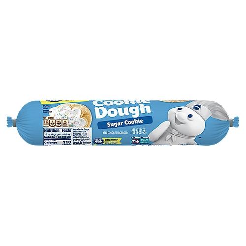 Delicious Sugar Cookies with No Mixing! No High Fructose Corn Syrup. No Preservatives. Makes 16 Cookies.