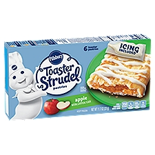 Pillsbury Toaster Strudel Apple Toaster Pastries - 6 Count, 11.7 Ounce