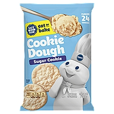 Pillsbury Refrigerated Sugar Cookies - 24 Count, 16 Ounce