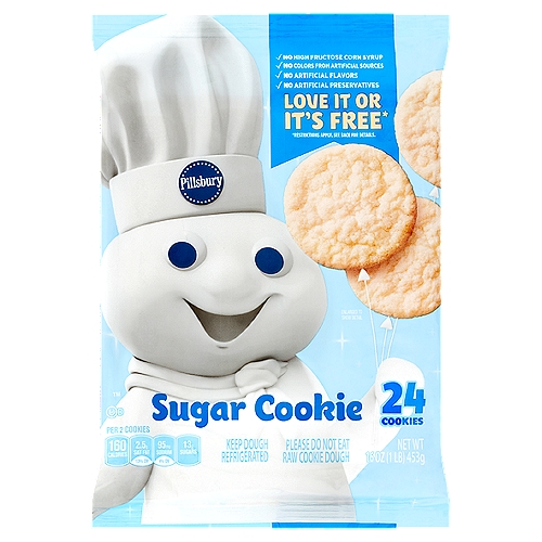 Delicious Sugar Cookies with No Mixing! No High Fructose Corn Syrup.