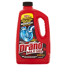 Drano Max Gel Clog Remover, 80 Fluid ounce