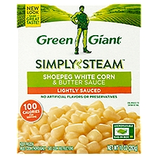 Green Giant Steamers Shoepeg White Corn & Butter Sauce, 10 Ounce