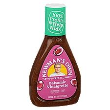 Newman's Own Balsamic Vinaigrette Salad Dressing, 16 Fluid ounce