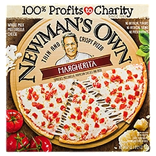 Newman's Own Thin and Crispy Margherita Pizza, 16.4 Ounce