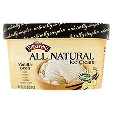 Turkey Hill All Natural Vanilla Bean Ice Cream, 48 Ounce