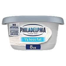 Philadelphia Cream Cheese - 1/3 less Fat, 8 Ounce