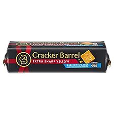 Cracker Barrel Extra Sharp Cheddar Chunk, 8 Ounce