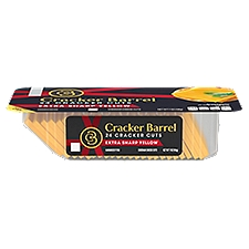 Kraft Cracker Barrel Cracker Cuts - Extra Sharp Cheddar, 7 Ounce