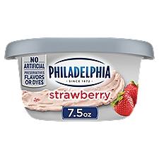 Philadelphia Cream Cheese Spread - Strawberry, 7.5 Ounce