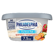 Philadelphia Cream Cheese Spread - Garden Vegetable, 212 Gram