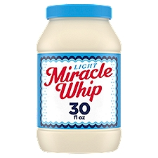 Miracle Whip Light Dressing, 30 Fluid ounce