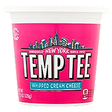 Temptee Temp Tee Whipped Cream Cheese, 11.5 Ounce