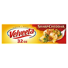 Velveeta Sharp Cheddar Loaf, 907 Gram