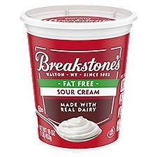 Breakstone's Sour Cream - Fat Free, 16 Ounce