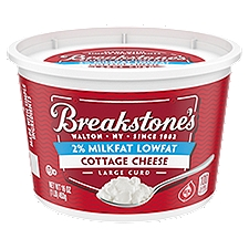 Breakstone's Cottage Cheese - Lowfat Large Curd, 16 Ounce